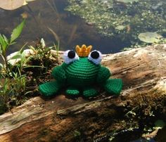 Frog Prince pattern PDF