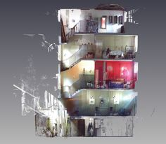 3D scan of Early Georgian Spitalfields house Georgian, Desktop Screenshot, 3d, House, Georgian Language, Home, Homes, Houses