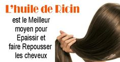 L'huile de ricin est ce qu'il y a de mieuxpour épaissir et faire repousser lescheveux, les cils et les sourcils. L'huile de ricin est l'un des secrets les mieux gardés dans le monde. L'huile de ricin contient de la vitamine E, des minéraux, des protéines, a des propriétés antibactériennes et anti-fongiques. L'huile de ricin est …