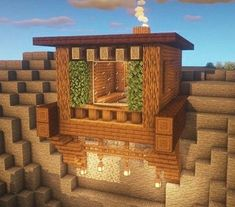 Everyone loves Minecraft as a result of a few very simple points, control, replayability Mine Minecraft, Easy Minecraft Houses, Minecraft Room, Minecraft Plans, Minecraft House Designs, Minecraft Decorations, Amazing Minecraft, Minecraft Tutorial, Minecraft Blueprints