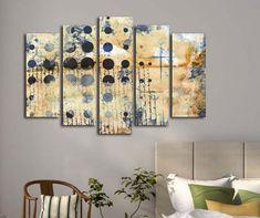 Points 5 darab Kép Canvas, Room, Furniture, Home Decor, Products, Tela, Bedroom, Decoration Home, Room Decor