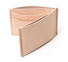Bifold Wallet in Natural