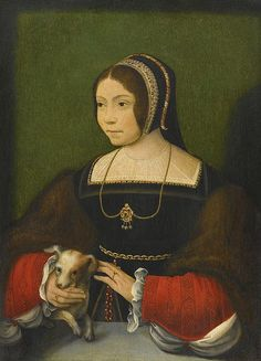 Flemish School 16th century Portrait of a Lady.jpg Sotheby's - the blackworked cap underneath the hood instead of a pleated cloth of gold  frill is a useful piece of knowledge
