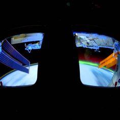 Das Polarlicht aus dem Weltall in 4K