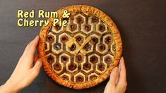 How to Make a 'Red Rum and Cherry Pie' Based on the Iconic Carpet From 'The Shining'