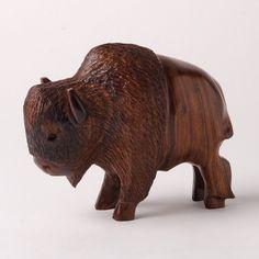 Medium Ironwood Buffalo