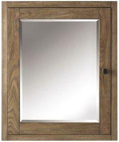 """Brisbane 23""""W Mirrored Cabinet"""