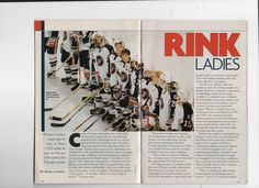 98 ladies team article page 1 Usa Hockey, Sport One, Olympic Medals, Olympics, Lady, Sports, Books, Women, Hs Sports