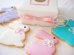 biscoitos decorados páscoa - Pesquisa Google