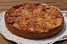 Apfelkuchen mit Mandelguss (Rezept mit Bild)
