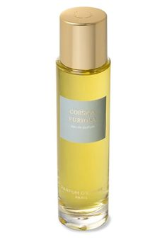 Corsica Furiosa Eau de Parfum  by Parfum d'Empire. A verdant blast built around lentiscus, an evergreen shrub typical of Corsica. Wood, moss, earth, hay, honey, and in every shade, its sillage carries the smells of the mountain. Energizing and impetuous. Corsica Furiosa  Notes:  Lentiscus oil, eau-de-vie, nepita (a local variety of wild mint), lentiscus absolute, tomato leaf, pepper, lentiscus extract original, cistus, oakmoss.