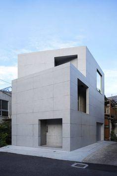 コンクリート・RC造の家 中間領域のある都市住宅 アーキッシュギャラリー