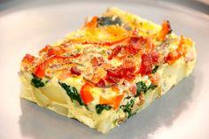 Frittata opskrift: Prøv denne lækre frittata, der er en italiensk æggekage, som laves med kartofler, spinat, bacon, peberfrugt, løg og æg. Du skal prøve denne dejlige frittata opskrift, der er virkelig god aftensmad med masser af