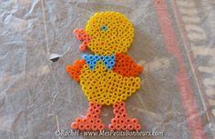 Easter chick hama perler by Rachel - Mes Petits Bonheurs