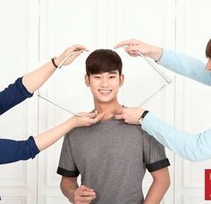 Kim Soo Hyun is going to have his very own wax figure at Madame Tussauds in Hong Kong. Pictures showing the preparations behind it have been released from the museum's Weibo account. The pictures show the handsome actor having his measurements taken. Next,also see the global star posing with a vari...