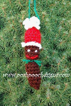 Haha, weird!   Posh Pooch Designs Dog Clothes: Dog Poop Christmas Ornament...REALLY!