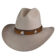 de20bbe796faf Bailey s Western Hobson 2X Mist Color Gus Shaped Hat Item W1702A