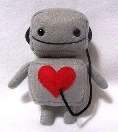 The cutest little robot...I wanna keep him in my shirt pocket.