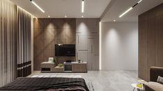 Bedroom Tv Unit Design, Tv Unit Bedroom, Tv Unit Furniture Design, Tv Unit Interior Design, Living Room Tv Unit Designs, Master Bedroom Interior, Modern Bedroom Design, Home Room Design, Modern Tv Room