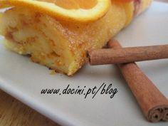 Torta de Laranja com Canela