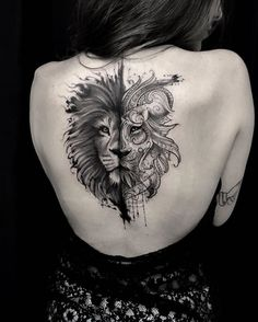 6,403 mentions J'aime, 49 commentaires – Tattoos Of Instagram (@tattoos_of_instagram) sur Instagram : « Amazing black & grey work !! (Credit: @andrefelipetattoos) #lionking #liontattoo #tattoo #lion »
