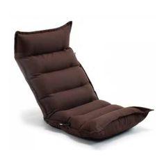 TZ10 倒れにくいレバー式フルフラット座椅子 BR