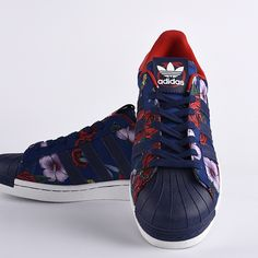 hot sale online ab8a3 f7f0f Adidas Originals SUPERSTAR 80S Rita ora Roses Floral hombres mujer Casual  Zapatos M19071 en stock