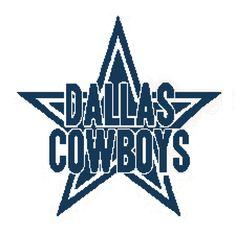 Dallas Cowboys Afghan Chart pdf by AngelscrochetedGifts on Etsy, $4.00