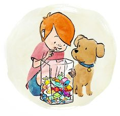 boy-with-dog-and-sweets-multi