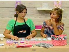 Organizador de bolsa - Renata Silva - Vitrine do Artesanato na TV