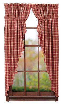 Everything Primitives - Kendrick Prairie Curtain Set, $39.95 (http://www.everythingprimitives.com/kendrick-prairie-curtain-set/)