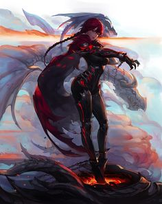 "spassundspiele: ""Dragon – fantasy concept by Chocofing R """