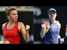 Halep vs Kerber -  HIGHLIGHTS AO Semi-finals 2018 - YouTube