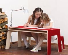 Austrian brand Perludi, always makes good furniture for kids with an eye on design.