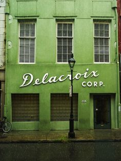 vintage architecture: The Delacroix Corp.