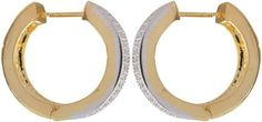 Waama Jewels Golden Brass earrings for Women (WJE175) [Jewellery]