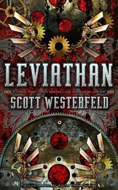 Leviathan by Scott Westerfeld. This steampunk series has lots of guy appeal. Lots of cool science fiction-y stuff, war and machines and gadgets. There are amazing maps and drawings throughout the books as well. This Is A Book, The Book, Leviathan Scott Westerfeld, Science Fiction, Steampunk Book, Steampunk Theme, Young Adult Fiction, Alternate History, Romance