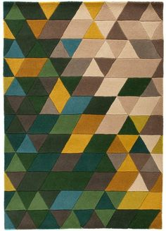 House of Fraser Flair Rugs Prism Green and Multi #HouseOfFraser #Rug #Home #Homewares #SoftFurnishing
