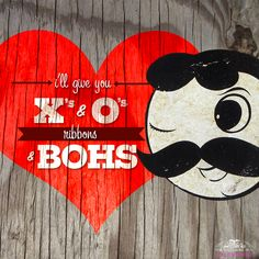 Baltimore Valentine: I'll give you X's and O's, ribbons and Boh's
