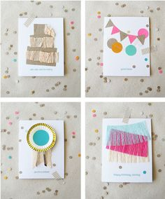 Love homemade cards