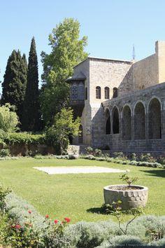 Garden, Palace of Beiteddine, Lebanon