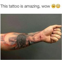 Amazing tattoo! One of the coolest and most meaningful ones I've seen yet!