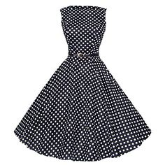 Maggie Tang Women's 1950s Vintage Rockabilly Dress Size S Color Black White Maggie Tang http://www.amazon.com/dp/B00MIME7BG/ref=cm_sw_r_pi_dp_PWalvb0HQWNC7