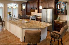 Golden Crystal Granite Kitchen Gallery Washington Marble