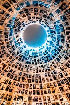 Yad Vashem, Holocaust Memorial, Hall of Names - Jerusalem, Israel. (December, 2012).