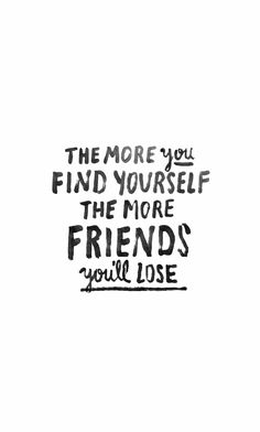 "Truth! I don't have a load of ""besties"". I have a tight knit group that supports one another"
