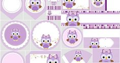 48 Ideas Baby Shower Ideas For Girs Themes Owls Free Printables Best Baby Gifts, Baby Girl Gifts, Purple Owl, Winnie, Baby Owls, Baby Baby, Girl Decor, Baby First Birthday, Diy For Girls
