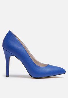 Pointed court - cobalt Gino Paoli Heels | Superbalist.com