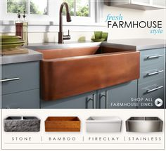 Farmhouse Sink- This
