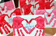 Valentine's Day...Kid craft to hand out to Grandparents, Aunts and Friends